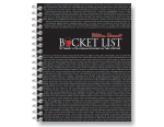 Bucket List Journal - Black
