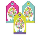 Easter Tree Jellybean - Gift Tag Set