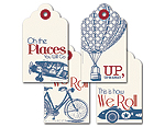 This is how we Roll - Gift Tag Set