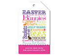 Easter Manifesto - Personalised tag set