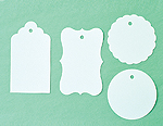 Blank Assorted Gift Tags