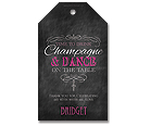Drink Champagne - Personalised Tags