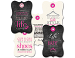 Fashionista - Gift Tag Set