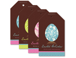 Faberge Chocolate Egg Tags