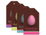 Retro Egg Tags