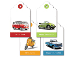 Boys Vehicle Tag Set
