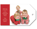 Christmas Photo Tags - Landscape
