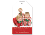 Christmas Photo Tags - Portrait