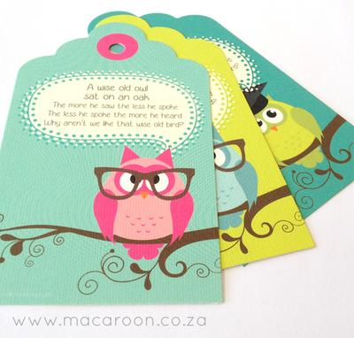 Teacher Gift Tag Sets
