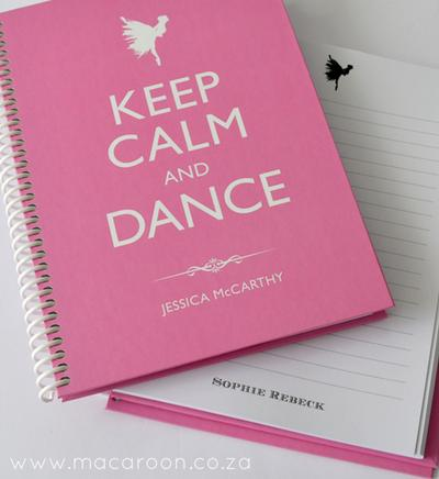 Personalised Ballet Journals