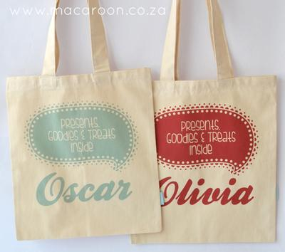 Personalised Gift Totes