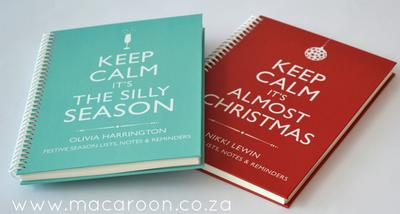 Personalised Festive Planning Journals
