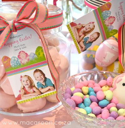 Personalised Photographic Easter Stickers