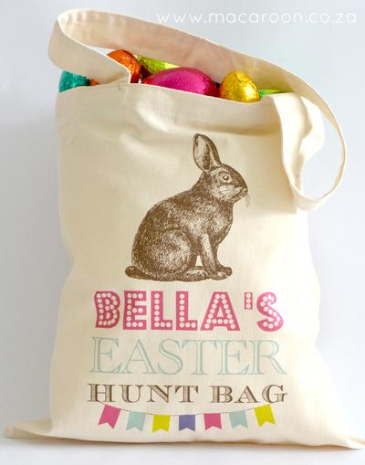 Personalised Bunny Totes