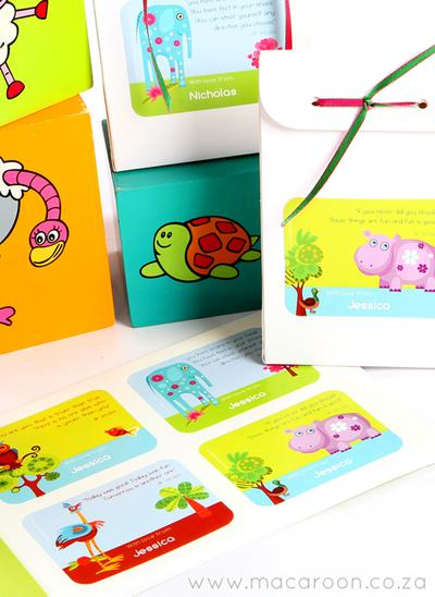 Kids Gift Stickers