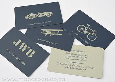 Personalised Contact Cards