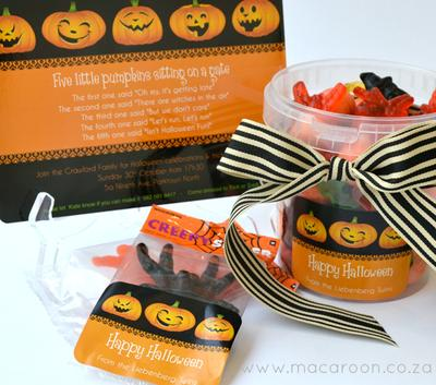 Halloween Invitations & Stickers