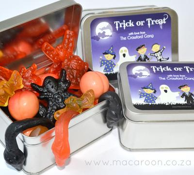 Halloween Treat Stickers