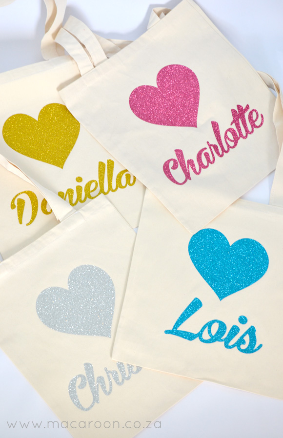 Personalised Bling bags