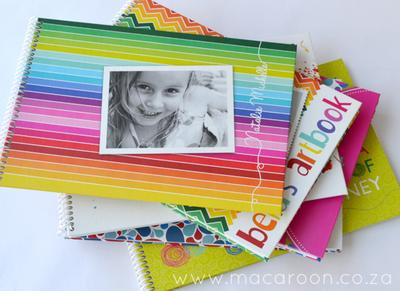 Personalised Kids Photo Sketch Book