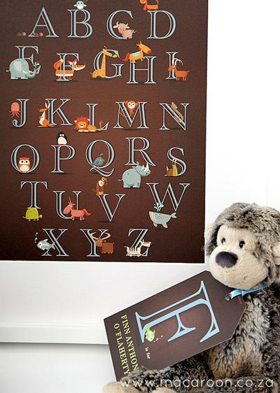 Baby Letter Poster
