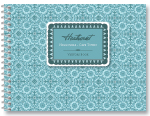 Guest Book - Moroccan Tile Blue