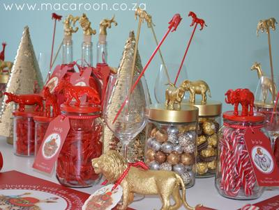 African Christmas Table