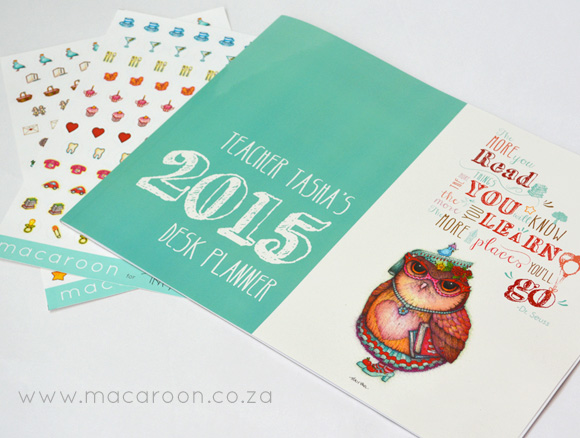 Tracy Paul Owlivia Desk Calendars