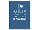 Super Hero Brother - Navy