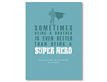 Super Hero Brother - Blue