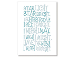 Star Light Star Bright - White/Blue