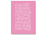 Star Light Star Bright - Pink