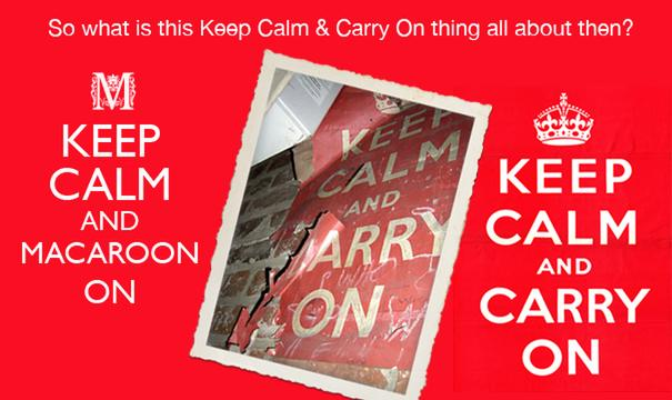 Keep Calm and Carry On - what is all the fuss about?