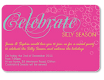 Let's Celebrate Bright Invitation